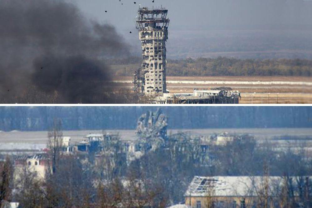 Ополченцы не раз заявляли, что именно с диспетчерской вышки украинские силовики производят наводку артиллерии, которая прицельным огнем бьет по жилым районам Донецка.
