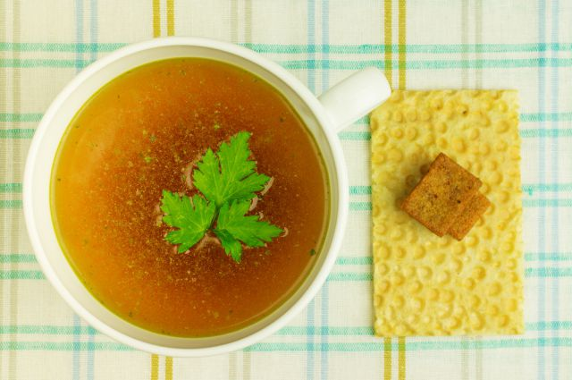 Как сделать бульон прозрачным для супа 245
