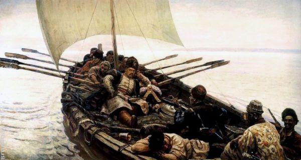Еще одно монументальное полотно на историческую тему – «Степан Разин» - художник написал в 1907 году. В этом же году Суриков становится членом Союза русских художников.