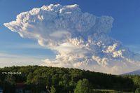 Извержение вулкана Безымянный, 1 сентября 2012 г.