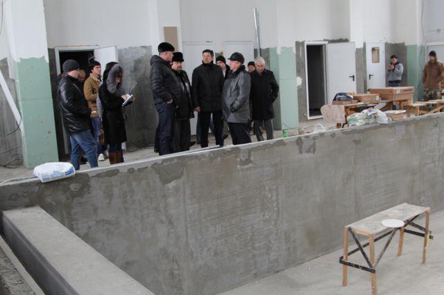 Спортобъект в Вёшенской достроят к юбилею М.Шолохова в мае 2015 года.