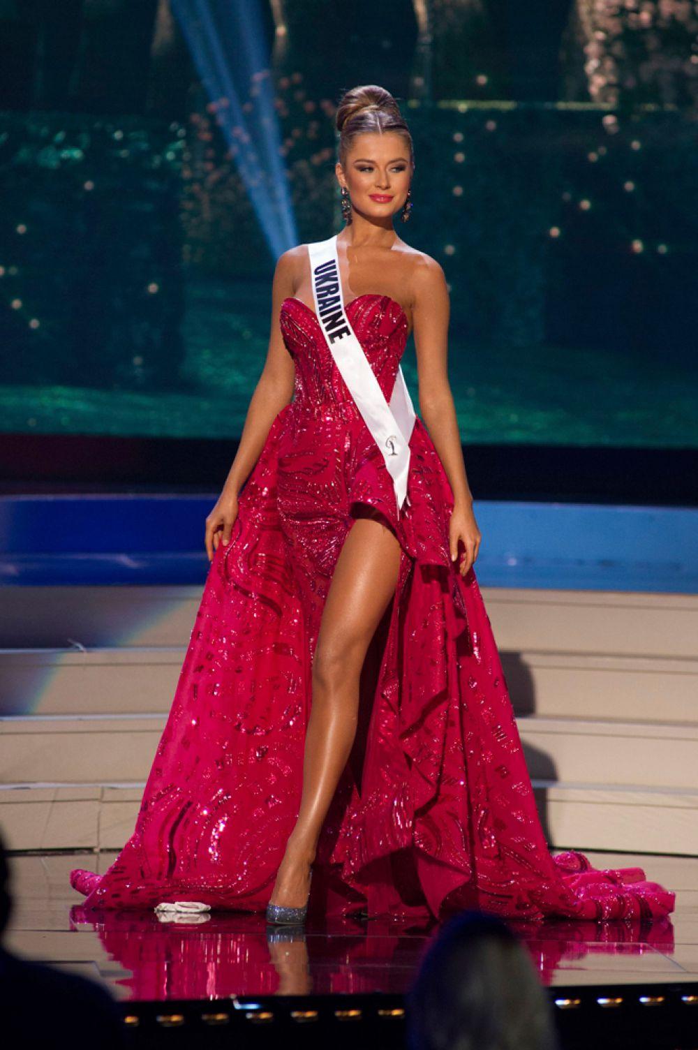 Красавица Диана Гаркуша, «Мисс Украина-2014».