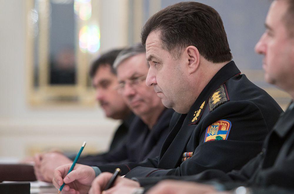 Совещание силовиков с Петром Порошенко