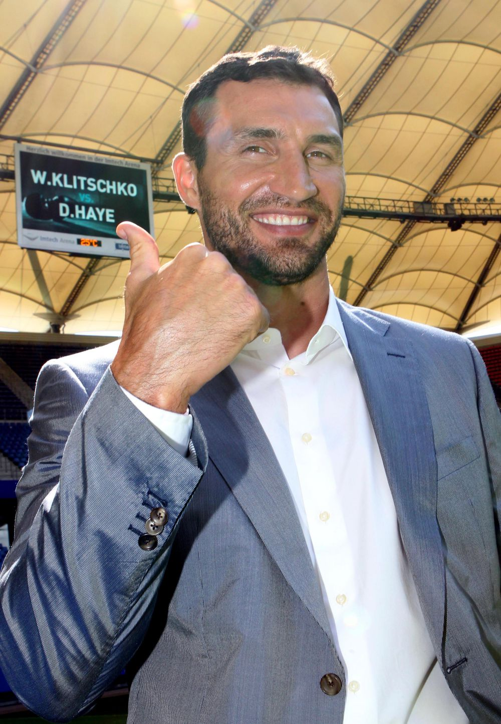 Владимир Кличко – украинский боксер