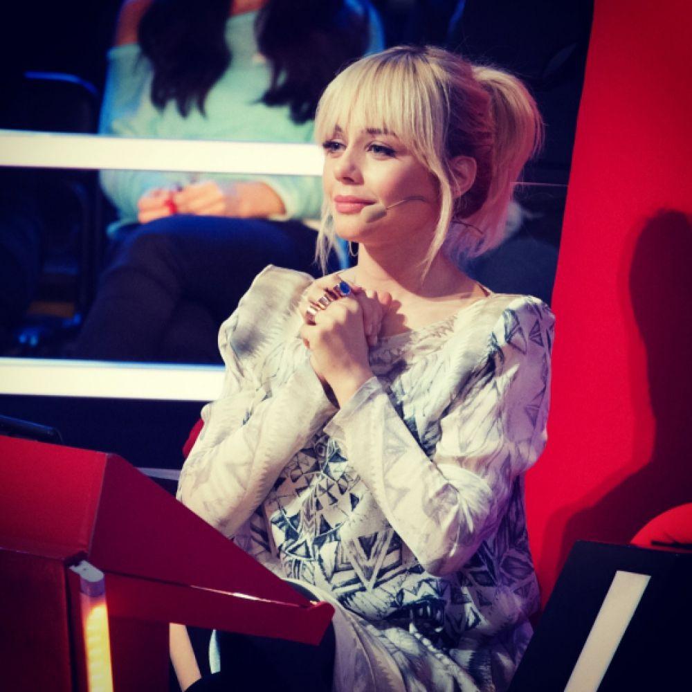 Тина Кароль как наставник в шоу «Голос. Дети» на телеканале 1+1 (2013 г.)