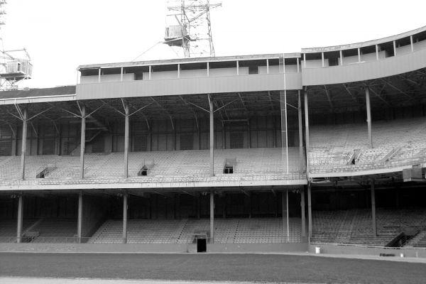 Tiger Stadium в Детройте.
