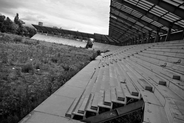 Стадион Petrzalka на 7 тысяч сидячих мест, на котором играла одноименная футбольная команда из Братиславы.