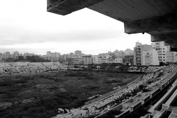 Заброшенный стадион на Мальорке, Испания.