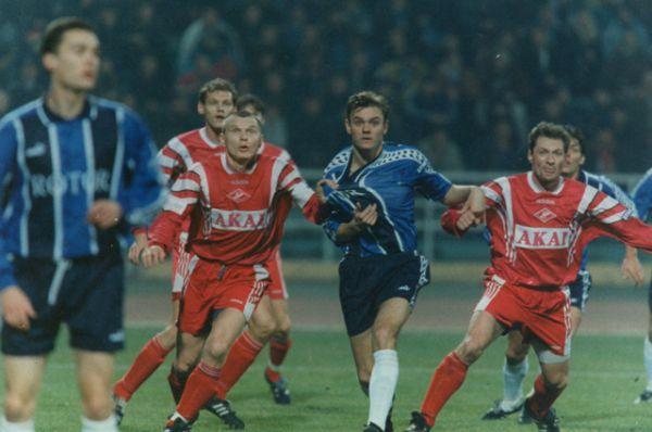 Матч за чемпионство со «Спартаком». В 1997 году волгоградский клуб был очень близок к тому, чтобы стать чемпионом страны. Но решающий матч со «Спартаком» на родном поле закончился со счетом 0:2 в пользу гостей.