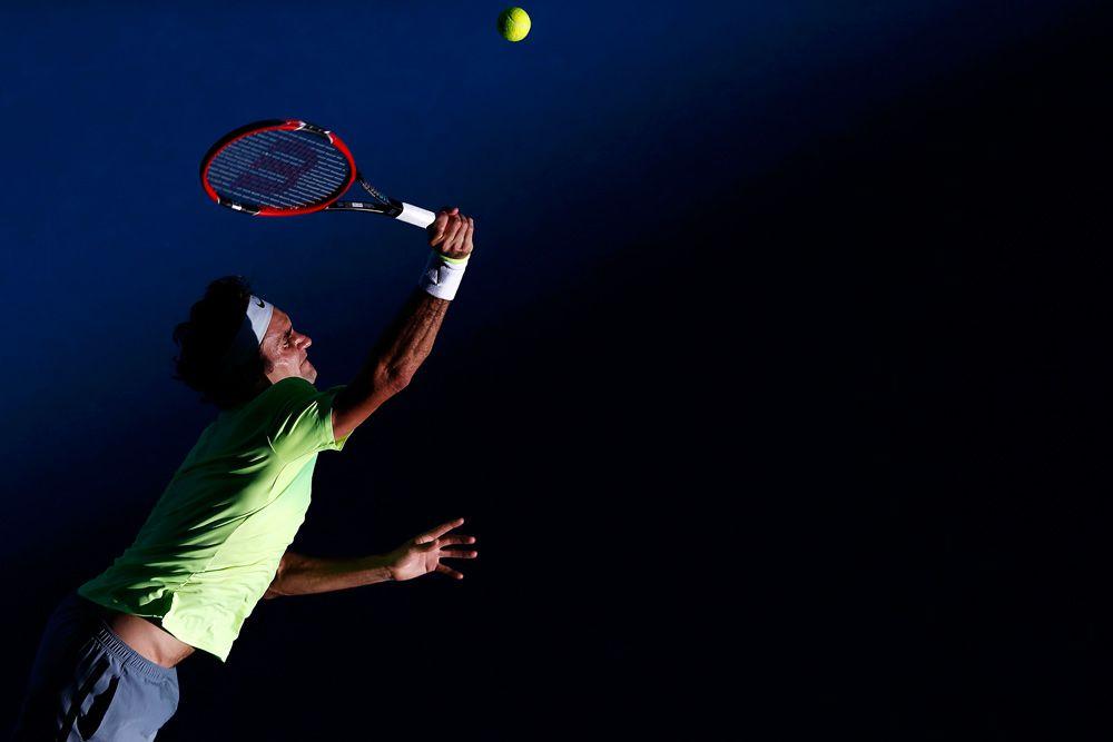 23 января. Роджер Федерер сенсационно проиграл в матче третьего круга Australian Open против Андреаса Сеппи.