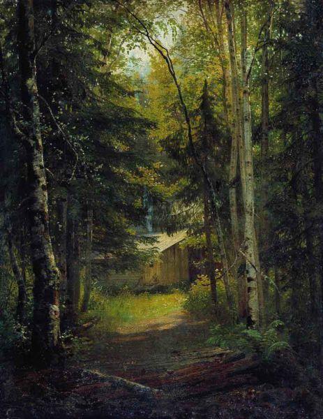 «Сторожка в лесу», 1870 год.