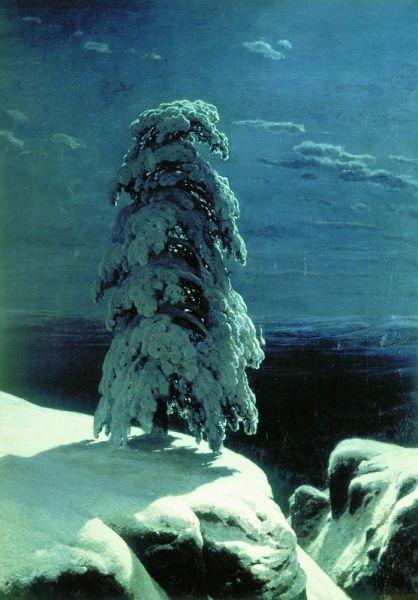 «На севере диком...», 1891 год.