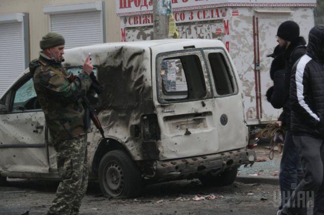Мариуполь после артобстрела