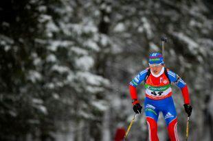 Биатлонистка Виролайнен стала второй в гонке преследования на этапе КМ