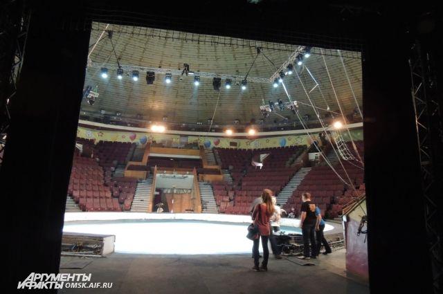 Здание омского цирка решено обновить.