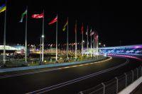 Трасса «Формулы-1» в Олимпийском парке Сочи.