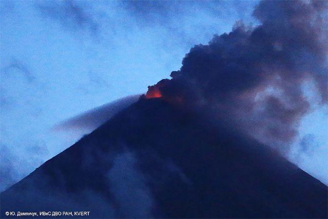 Ключевской вулкан.