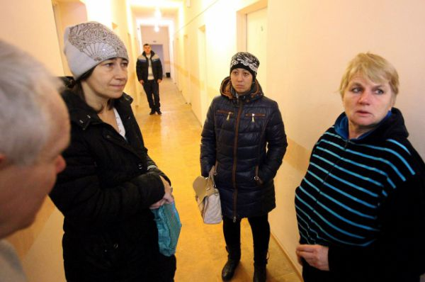 Новый пункт временного размещения беженцев в Приморке Неклиновского района заполнился за несколько дней.