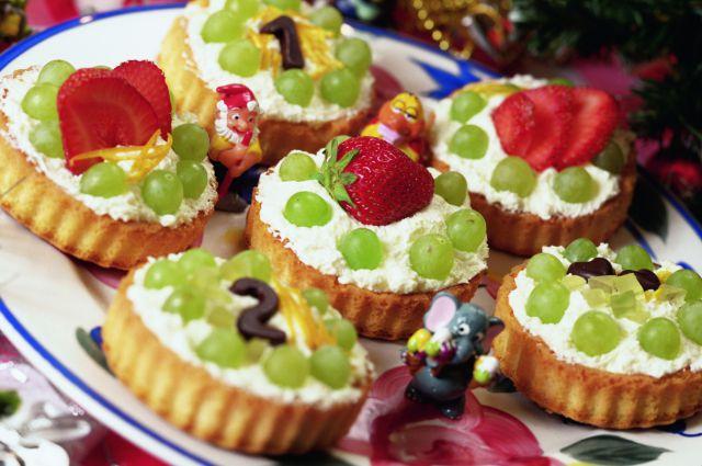 В Омской области стали производить больше пирожных.
