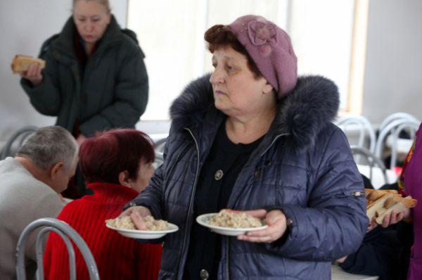 Люди не только из Мариуполя, а со всего Донбаса.