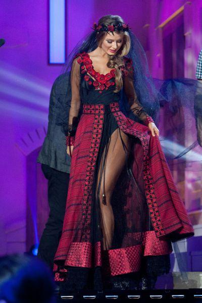 1-я вице-мисс конкурса Miss universe 2014, представительница Украины Диана Гаркуша