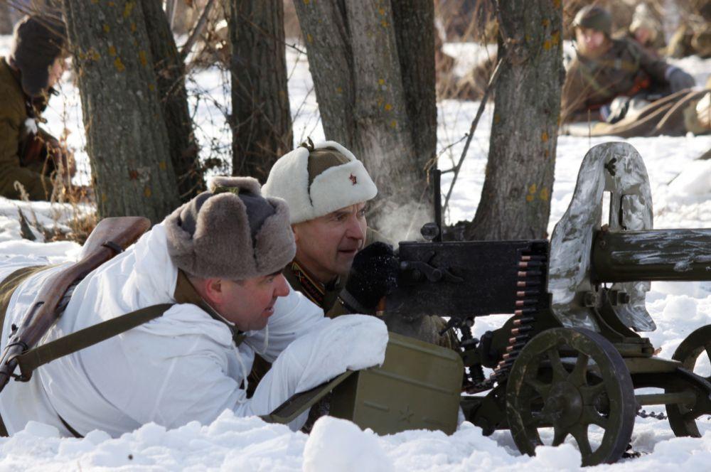 Пулемёт Максим – грозное оружие той войны.