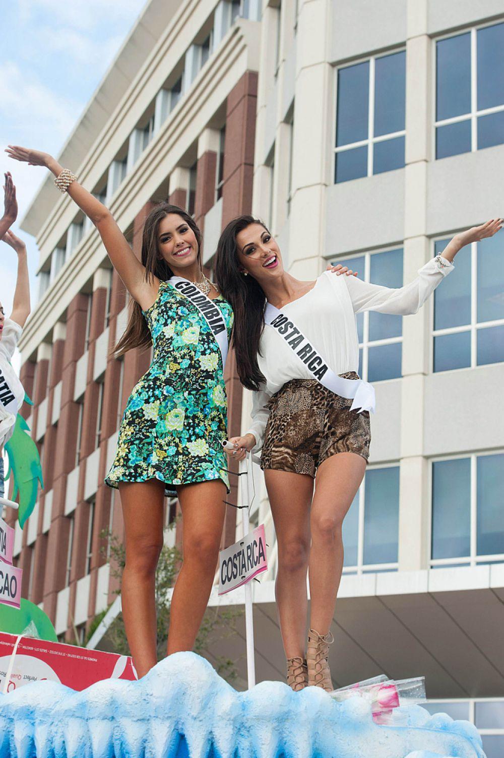 За конкурсом «Мисс Вселенная — 2014» следили во всем мире, его транслировали по телевидению и в Интернете.