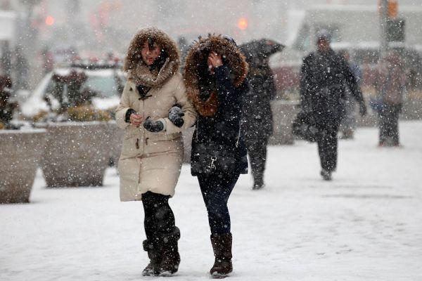 Непосредственно в Нью-Йорке, по данным NWS, высота снежного покрова достигнет 76 сантиметров, и даже немного больше составит в некоторых его пригородах.  До этого наибольшее количество снега выпало в Нью-Йорке во время снежной бури 11 и 12 февраля 2006 года. Тогда, как отметили в городском управлении по чрезвычайным ситуациям, высота снежного покрова в городе Большого яблока достигла 68 сантиметров, практически полностью парализовав транспортное сообщение в Нью-Йорке.