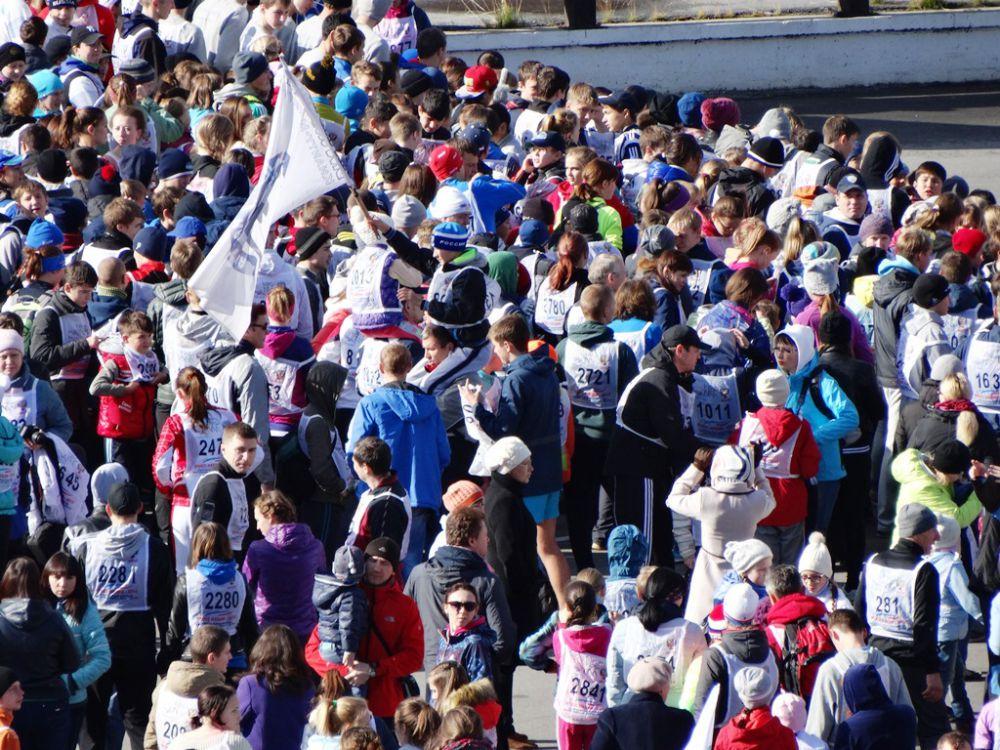 Жители Ханты-Мансийска не прочь и сами принять участие в массовых спортивных соревнованиях.