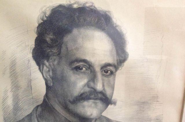 Портрет С. Орджоникидзе - одна из находок