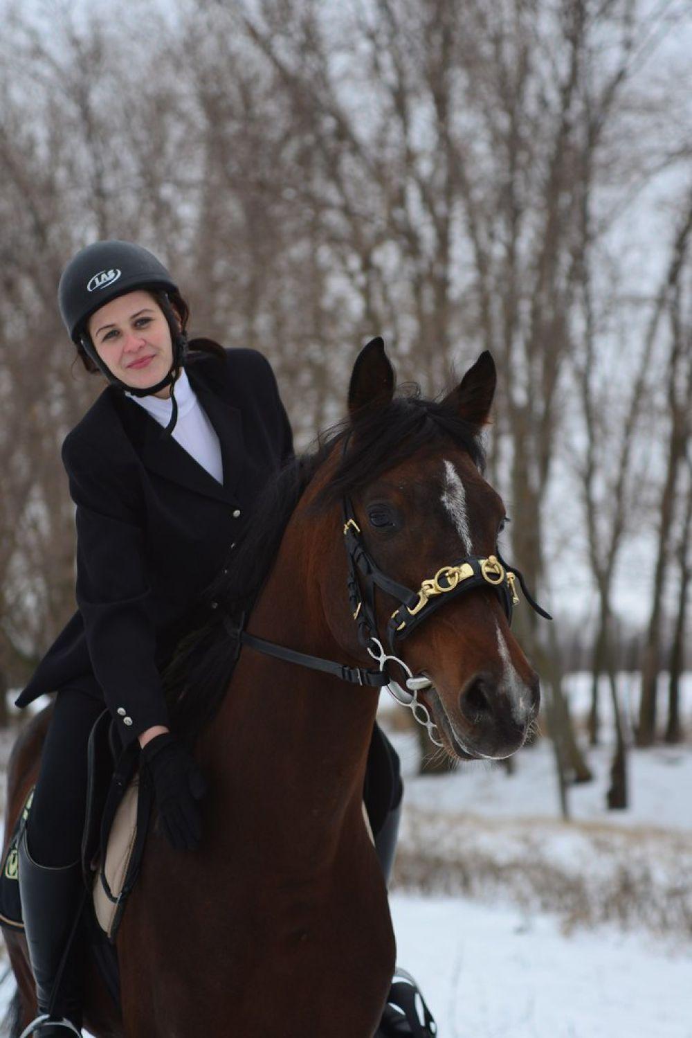 Руководитель клуба Галина Любивая более 20 лет занимается конным спортом.