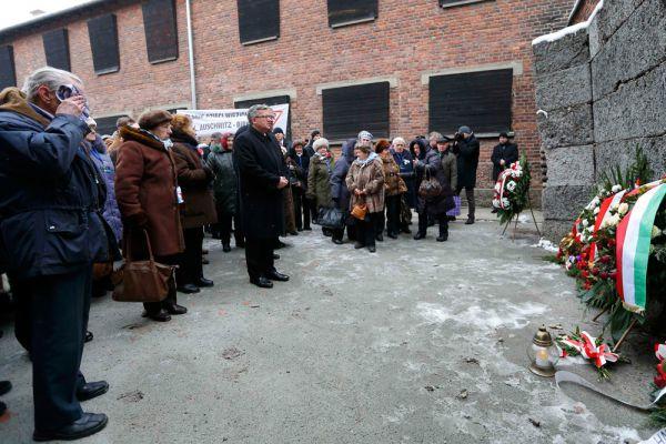 Организаторами мероприятий и местными властями предприняты беспрецедентные меры безопасности: в Освенциме и окрестностях на каждом перекрестке дежурят полицейские, в регионе введен запрет на ношение оружия.
