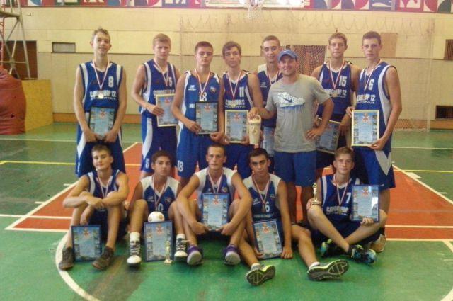 Детская баскетбольная команда г. Волгограда.