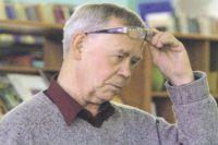 Писатель Валентин Распутин.