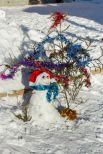 В конкурсе снеговиков проигравших не было. Пусть мал снеговик, да удал.