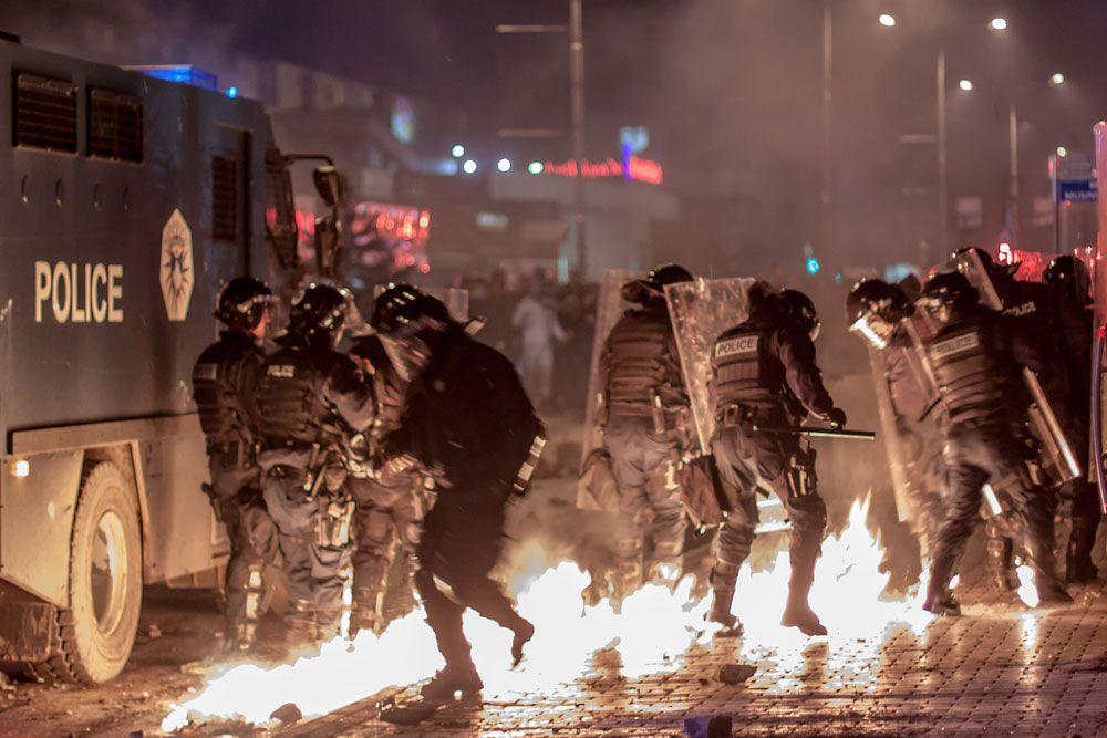 Столкновения с полицией стали самыми крупными с начала 2007 года, когда два протестующих косовских албанца были застрелены румынскими представителями полиции Организации Объединенных Наций во время демонстраций в Приштине, призывающих Косово отделиться от Сербии.
