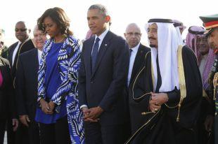Мишель Обаму осудили за несоблюдение правил этикета в Саудовской Аравии