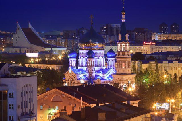 Работа Алексея Голубева. Фото из серии «Омск с высоты».
