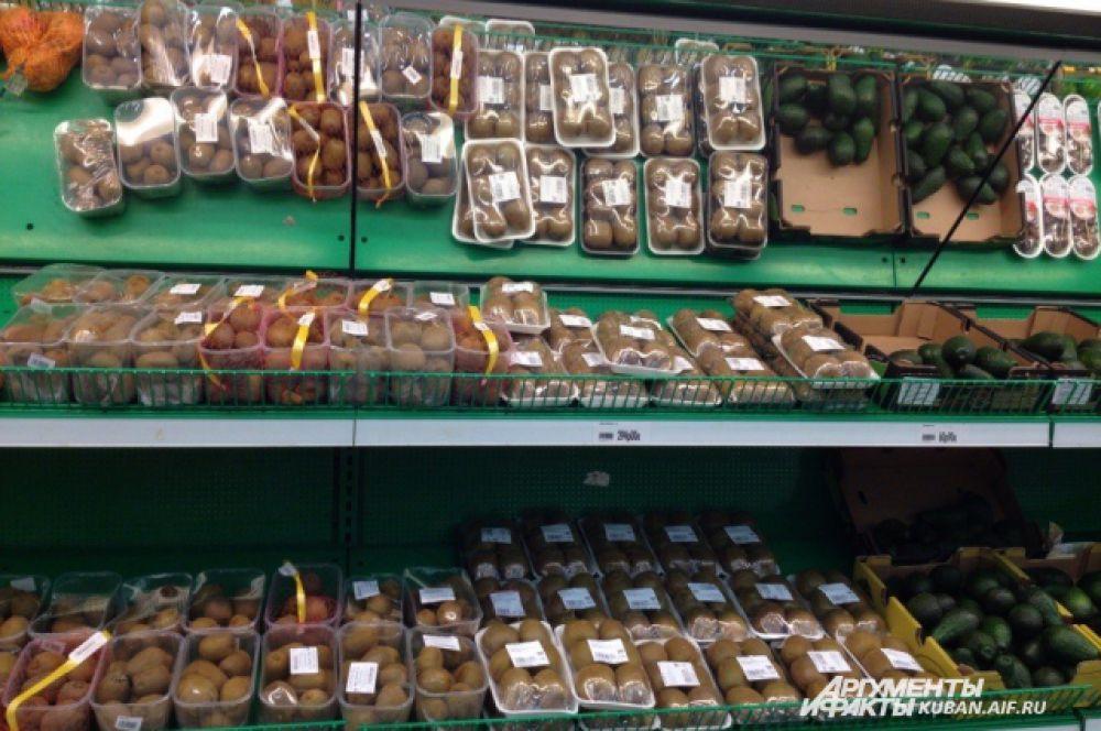 ТОП-10 самых дорогих продуктов. 8-е место: киви 170 рублей.