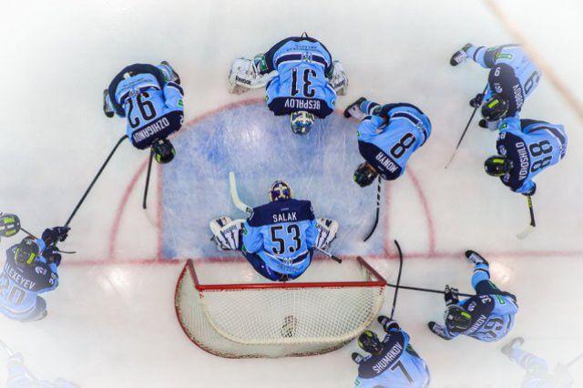 Хоккейная «Сибирь» вышла в плей-офф чемпионата КХЛ