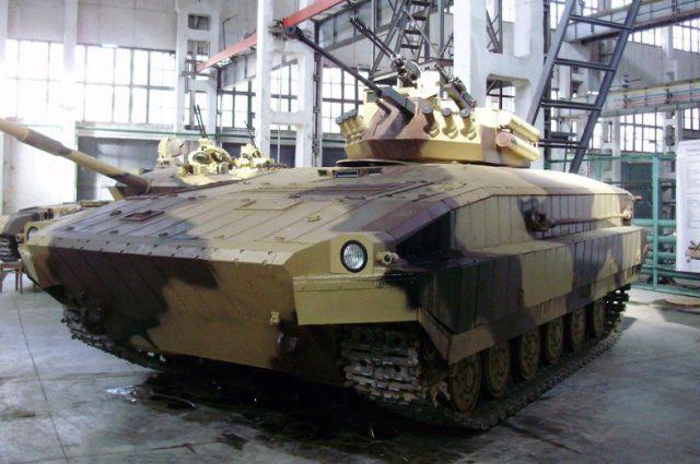 Гибрид танка и БМП