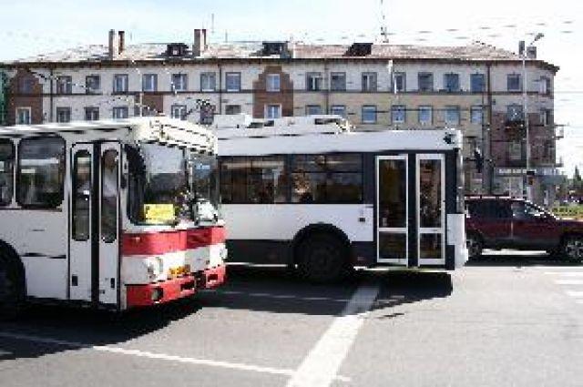 В Калининграде автобусы № 23 и