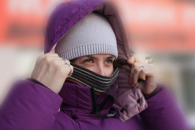 Три дня в Омской области было очень холодно.