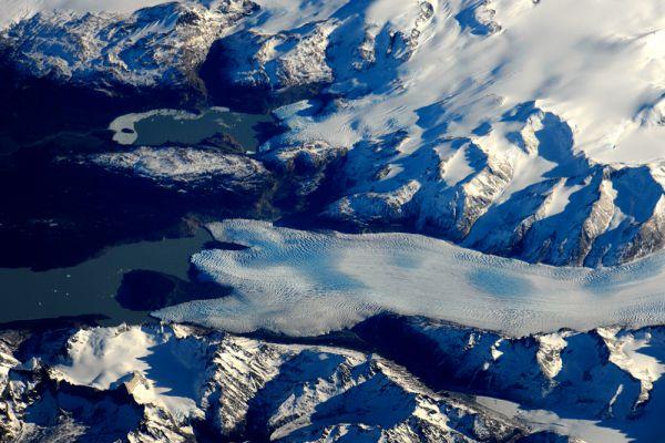 Ледники Патагонии.
