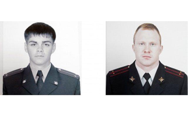 Полицейские-герои.