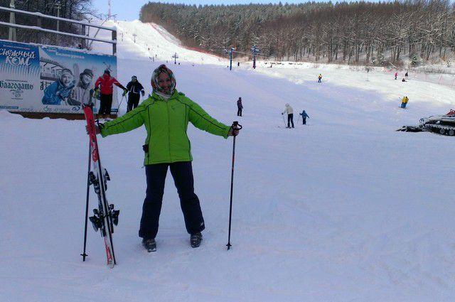Где провести зимние выходные? На лыжах!
