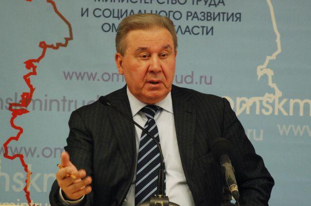 Леонид Полежаев, бывший губернатор Омской области.