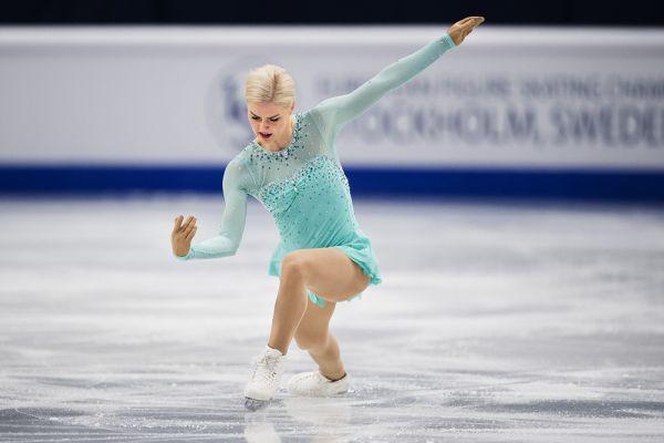 Шведка Виктория – старшая из сестер Хельгессон – одна из самых эффектных фигуристок чемпионата.