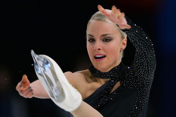 Финка Киира Корпи занимает после короткой программы 4 место, но вот ее красоту вряд ли можно как-то измерить.