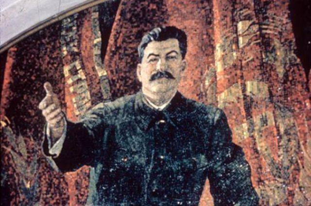 Сталин и синичка.
